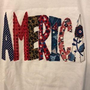 Custom America Tee
